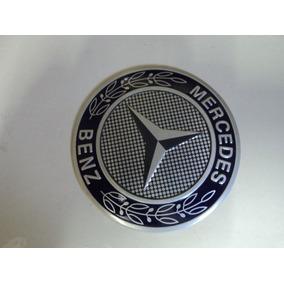 Emblema Adesivo Merceedes Para Rodas Esportivas 58mm