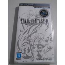Final Fantasy Iv The Complete Collection Psp Novo Lacrado!