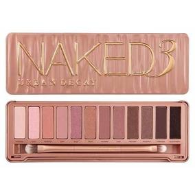 Pincéis Naked 3 Mais Paleta Naked 3 Mais 2 Brindes