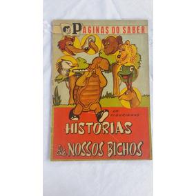 Álbum De Figurinhas Histórias De Nossos Bichos Jan/1960