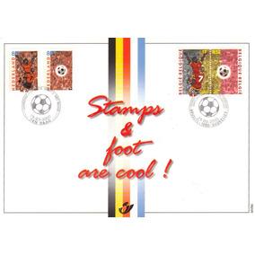 Col 01474 Bélgica Holanda Emissão Conjunta Futebol Luxo