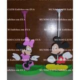 Centro De Mesa Minnie & Mickey 5 Unidades