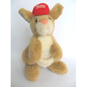 Canguru Brinquedo Boneco Pelúcia