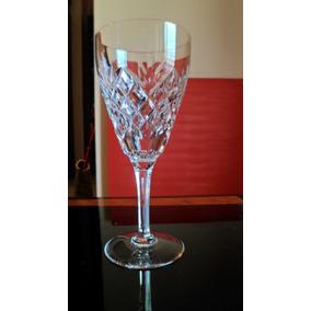 Copa De Cristal Para Vino Tinto Val Saint Lambert Firmada