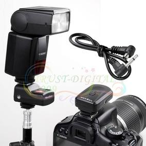 Rádio Flash Disparador Flash Qualidade E Robustez Canon