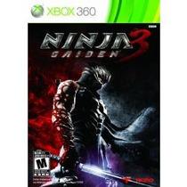 Jogo Ntsc Lacrado Original Novo Ninja Gaiden 3 Para Xbox 360