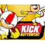 Kit De Kick Buttowski + Desenha Convites + Cartões Lembrança