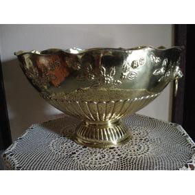 Maravilhosa Poncheira Em Bronze Indiano Maciço Raríssima