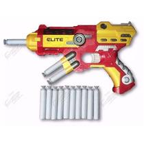 Pistola Lançadora Dardos Nerf Avengers Homem De Ferro