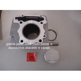 Kit Camisa Pistao Aneis Cbx250 Twister Xr250 Tornado