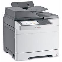 Multifuncional Laser Color Lexmark Cx510dhe Nova Garantia Nf