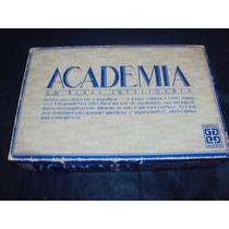 Brinquedo Antigo ,jogo Academia Completo Na Caixa Com Manual