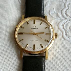 Relógio De Pulso Masculino A Corda Omega Genêve.