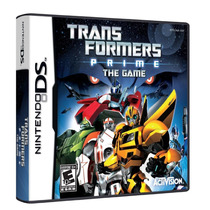 Jogo Novo Lacrado Transformers Prime The Game Pra Nintedo Ds