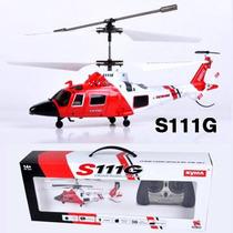 Helicóptero De Controle Remoto 3 Canais Syma S111g
