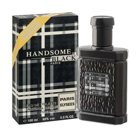 Perfume Handsome Black 100ml Paris Elysees - Polo Black