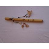 Flauta Nativa Americana Em Fam -- Flautas Shekinah--