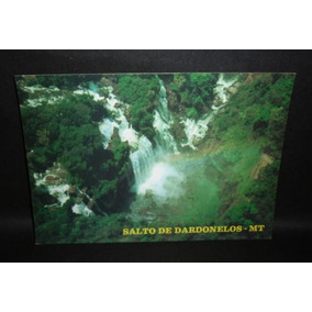 Cartão Postal Salto De Dardonelos Cidade De Aripuanã Mt .