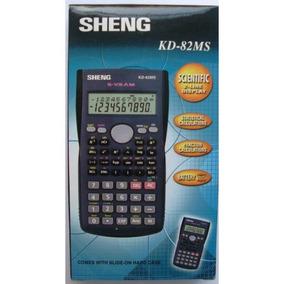 Calculadora Eletrônica Científica Sheng Kd-82ms