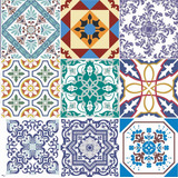 Adesivo Pastilha Azulejo Ladrilho Hidráulico Ou Parede 30cm