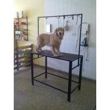 Mesas Para Peluquería Canina N3 Con Jaula Somos Fabrica