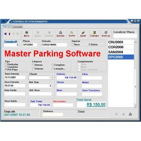 Softwar Sistema Para Controle De Estacionamento E Lava Jato