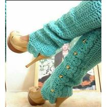 Polainas Tejidas A Crochet