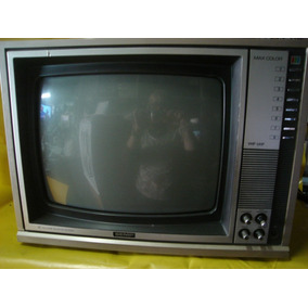 Tv Semp Max Color Tvc-160 - Antiga - Impecavel - Tudo Ok.
