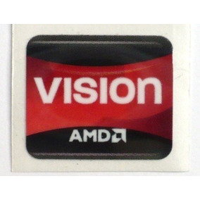 Adesivo Original Amd Vision