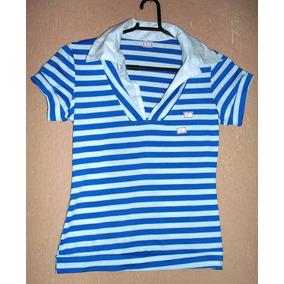 Camisa, Blusa De Malha E Tecido, Estampa Navy - Tam - U = M