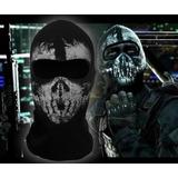 Máscara Balaclava Touca Ninja Call Of Duty Ghosts