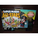 Super Mario All Stars Snes Super Nintendo Nuevo Y Sellado