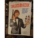 Carlitos Bala. Un Loco En Accion. Afiche Cine Original