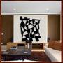 Quadros Arte Abstrata Escultura Parede Mdf C/pintura Decor