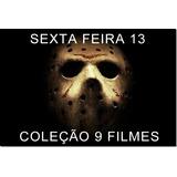 Sexta Feira 13 Coleção 3 Box / 9 Filmes Frete Gratis