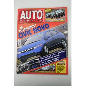 Revista Auto Esporte - Honda Civic Toyota Hilux Palio Fox