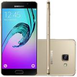 Celular Samsung Galaxy A7 2016 Duos 16gb Câmera 13mp Dourado