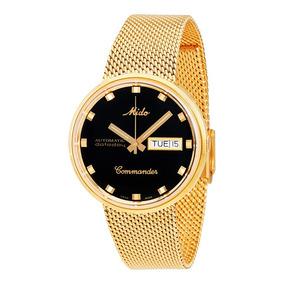 Reloj Mido Commander M842932813 Automático Para Caballero*