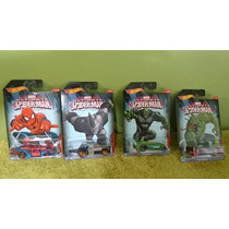 Hot Wheels Serie Ultimate Spiderman Completa 1/64
