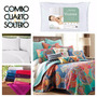 Pack Cover + Sábanas 1 Plaza 1/2 | Almohada | Toalla Toallón