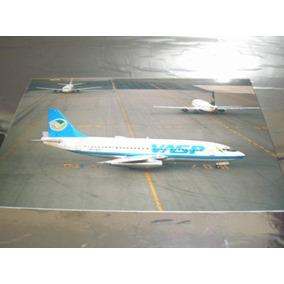 ( L - 380 ) F - 86 Fotografia Do Avião 737-200 Vasp