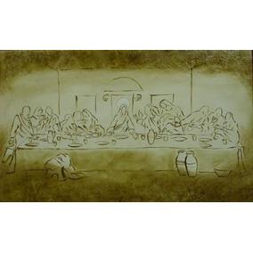Tela Santa Ceia Quadro Jesus Sob/ Encomenda 1,20x70cm