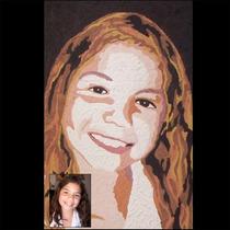 Desenho De Retrato / Caricatura / Pintura - 30 X 40 Cm