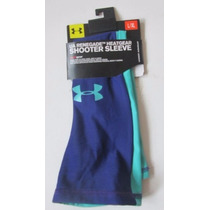 Under Armour Manga Deportiva Basquetbol Azul, Fuschia