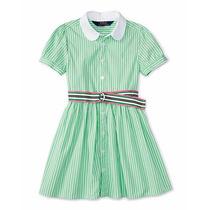 Vestidos Soleros Polo /ralph Laurent Nena 4 Y 6 Años Hermoso