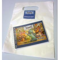 Souvenirs Anotadores Personalizados + Bolsita + Stickers