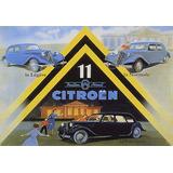 11 Citroen Legere Normale Carro Grande Antigo Poster Repro
