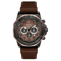 Relógio Luxo Bulova Marinestar 98b128 Orig Chon & Anal