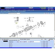 Pistão + Anel Std Os 4 Cilindros Do Motor Maxion 2.8 Ranger