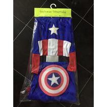 Disfraz Capitan America Talles 6-8 Años. Super Oferta!!!